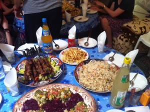 Some Moroccan food...- Agadir