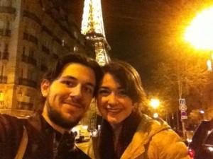 wondering around the city of lights with one of my best friends