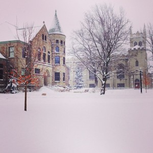 Here's a snapshot of the beauty of winter at Hope College.