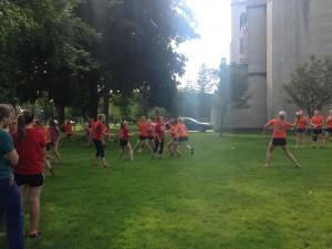 Orange and Red Teams