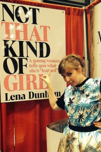 Lena Dunham in all her glory.
