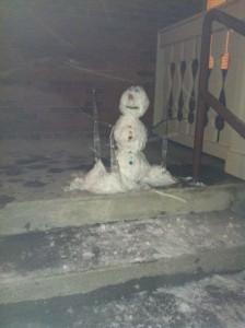 Vince the Snowman of Van Vleck