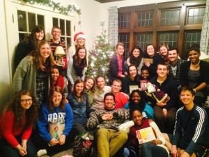 SAC during our Christmas Party!