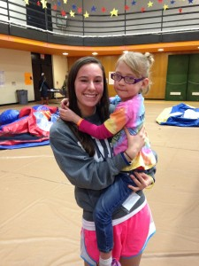 This is Riley Jo! I believe Dykstra Hall will be dancing for her again this year. She's the sweetest and her and her family both love being involved with Dance Marathon!