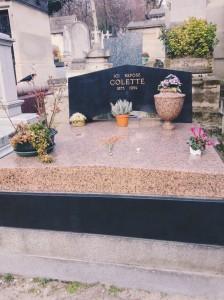 Colette's grave