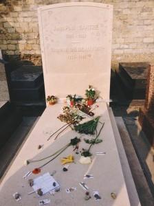 Jean-Paul Sartre's grave