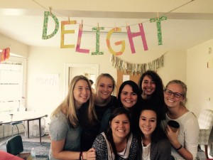 There were so many girls at Delight! It was wonderful to see so many girls on fire for God and willing to be vulnerable with each other.