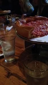 Giordano's for dinner.