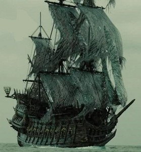 The Ghost ship that had never arrived to America from Netherlands.