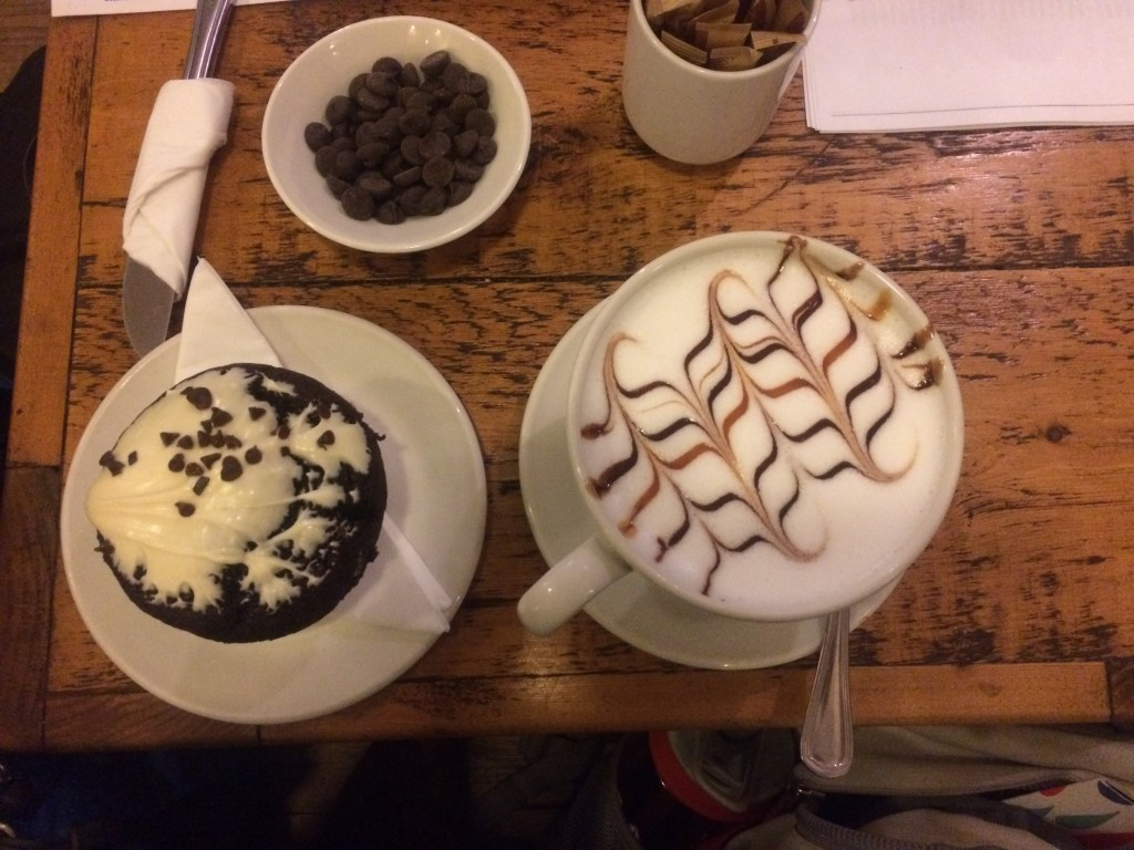 Here is some of the best hot chocolate I've ever had! Accents Coffee Lounge in Dublin is great for homework and a pastry. It's no LJ's, but it's something that's helped me get into my routine here in Dublin.