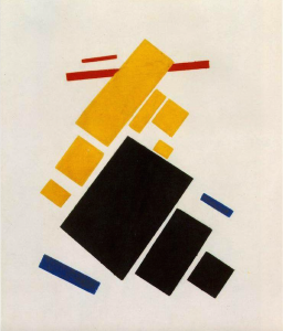 Airplane Flying by Kasimir Malevich,1915