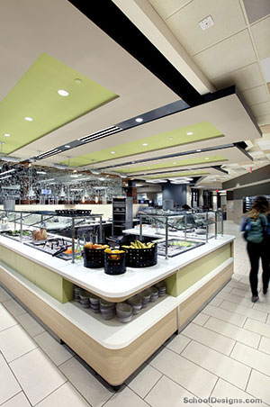 Phelps Dining Hall.
