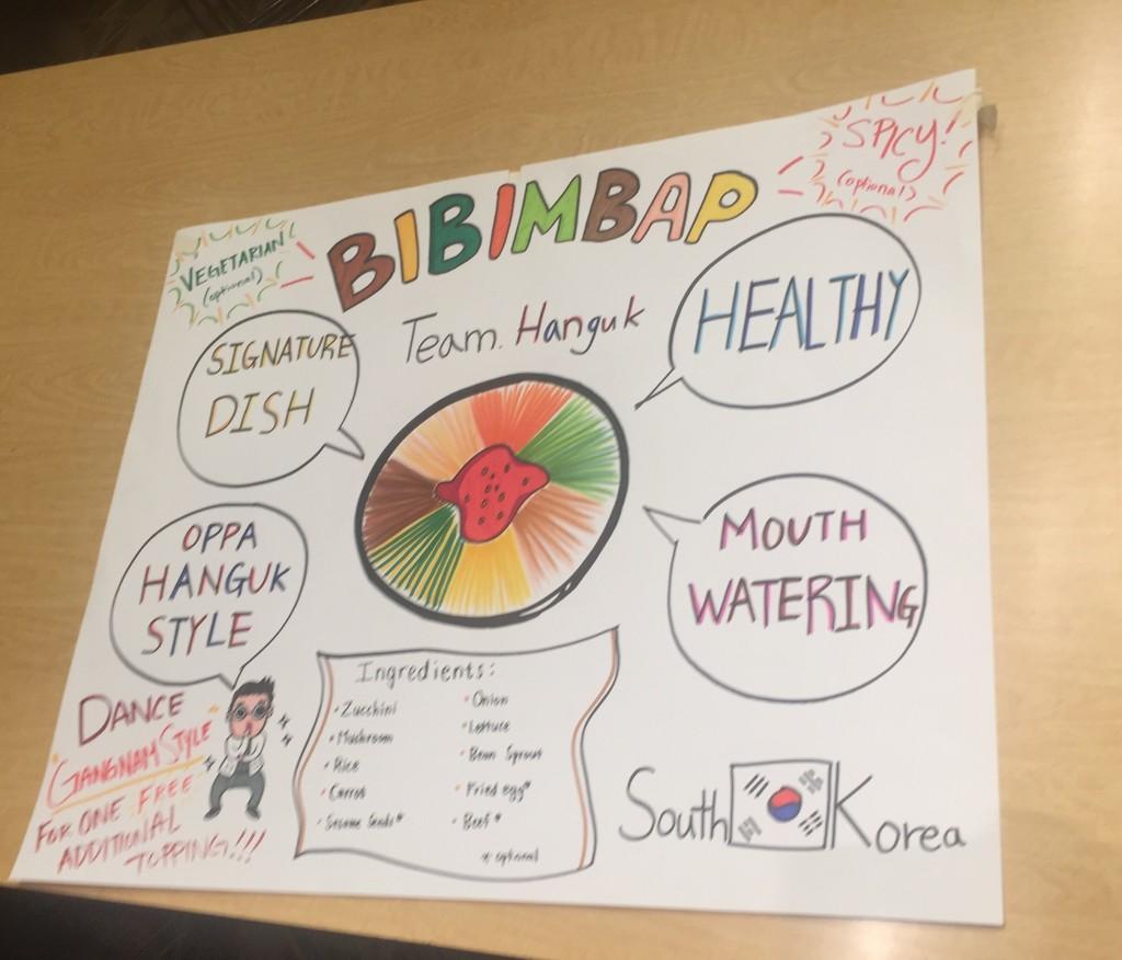 Bibimbap Poster ft Psy