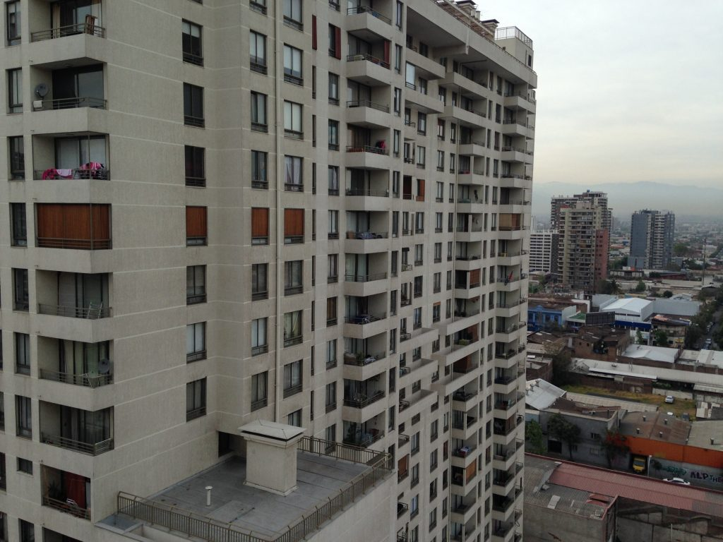 An apartment building in Chile.