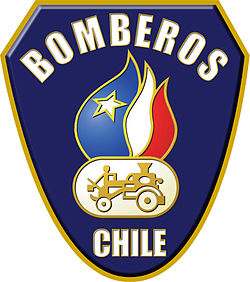 The symbol of Bomberos.