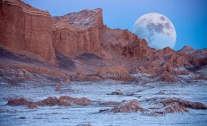 Valle de La Luna (Valley of Moon) in San Pedro.