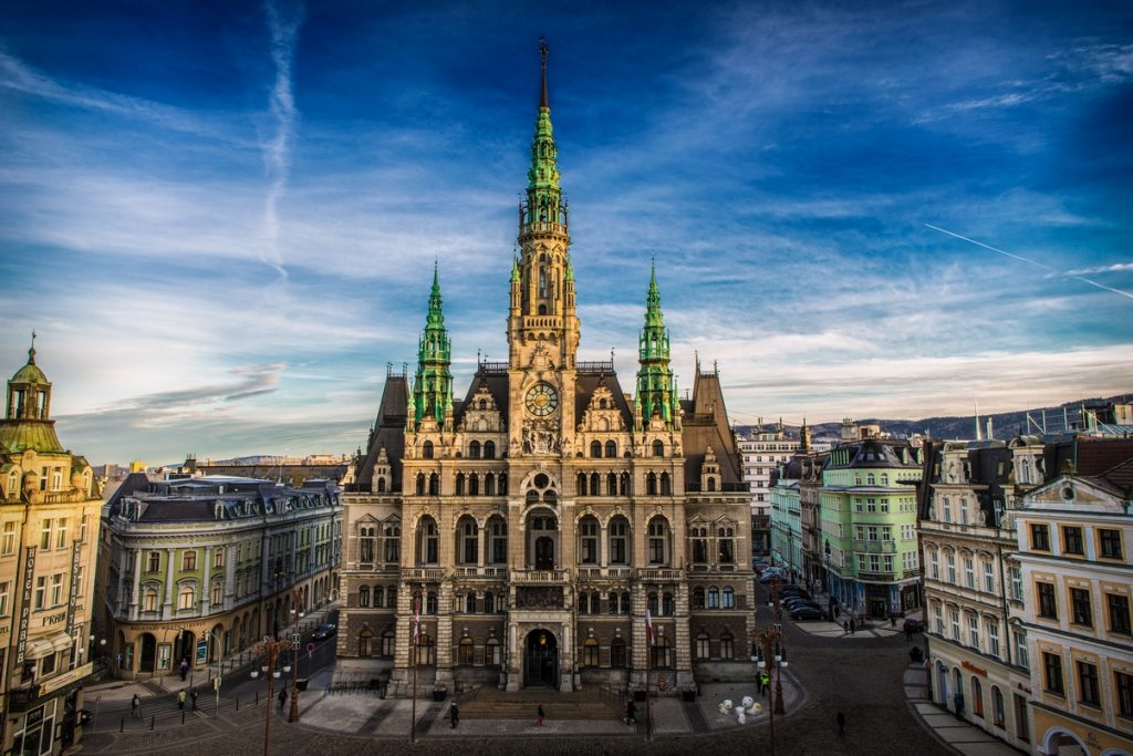 Town Hall of Liberec.