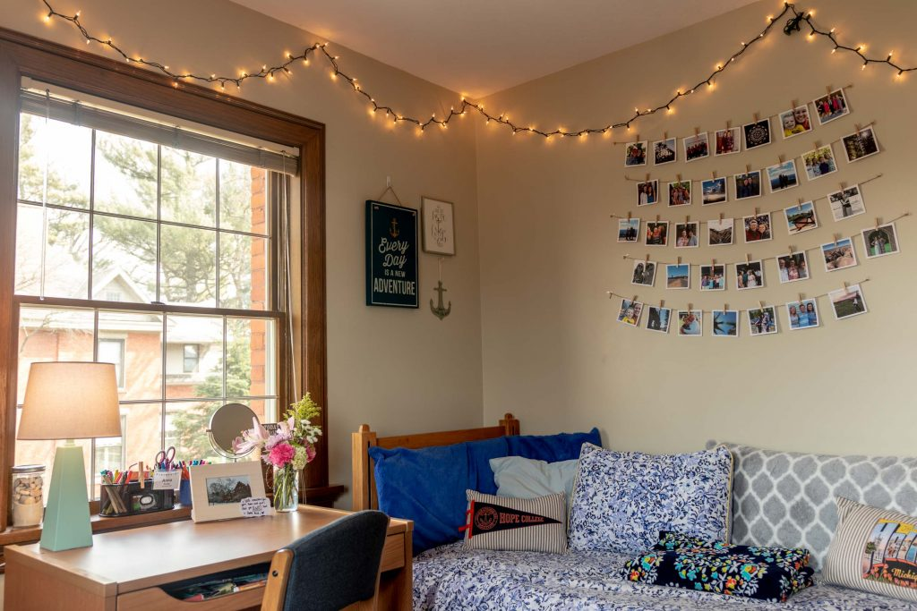 Example of Vorhees Hall room