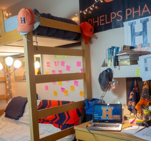 Phelps Hall room at Hope College