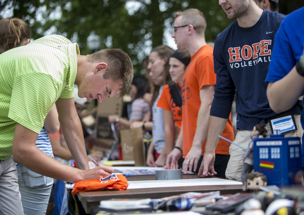 Image result for hope college student activity fair