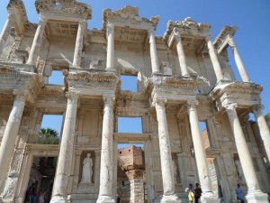 The library in Ephesus. Stunning.