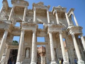 The library in Ephesus. Stunning.