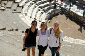 Great shot by Jordan at the theatre in Ephesus