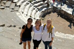 Great shot by Jordan at the theatre in Ephesus