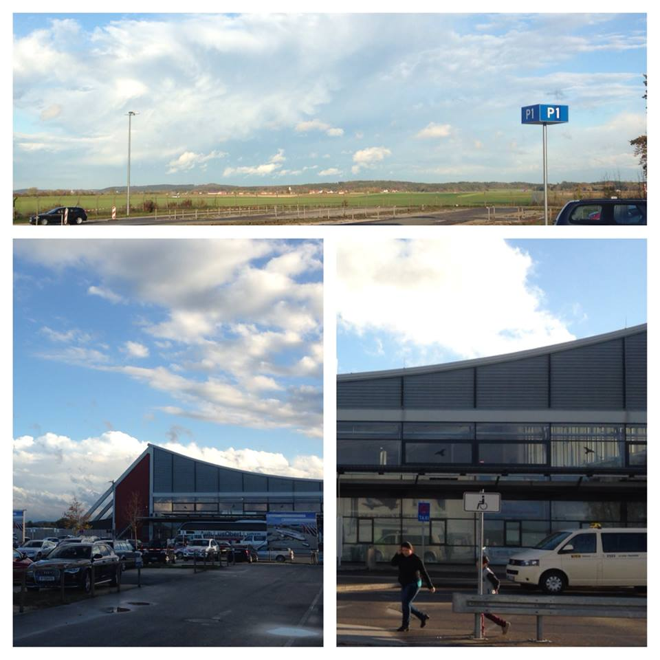 My first few pictures of Germany from the airport in Memmingen!