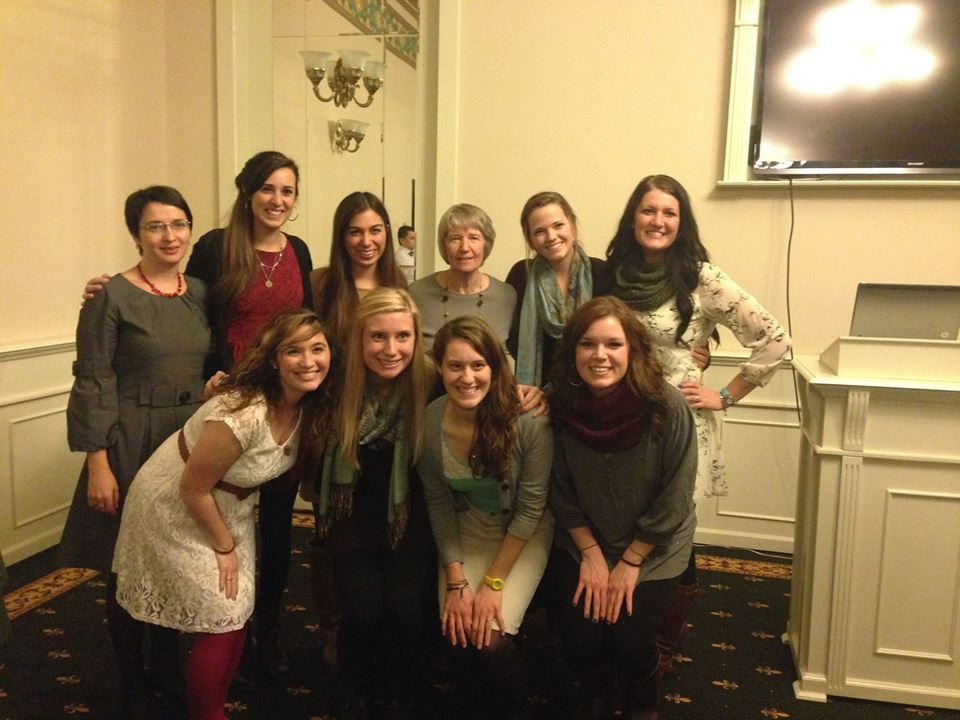 All of the the RSP students with our Romanian teacher, Elena, and our program director, Dorothy