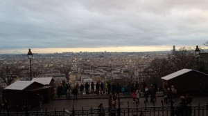 View from the top of Montmartre--a photo doesn't do it justice, so go see it in person!