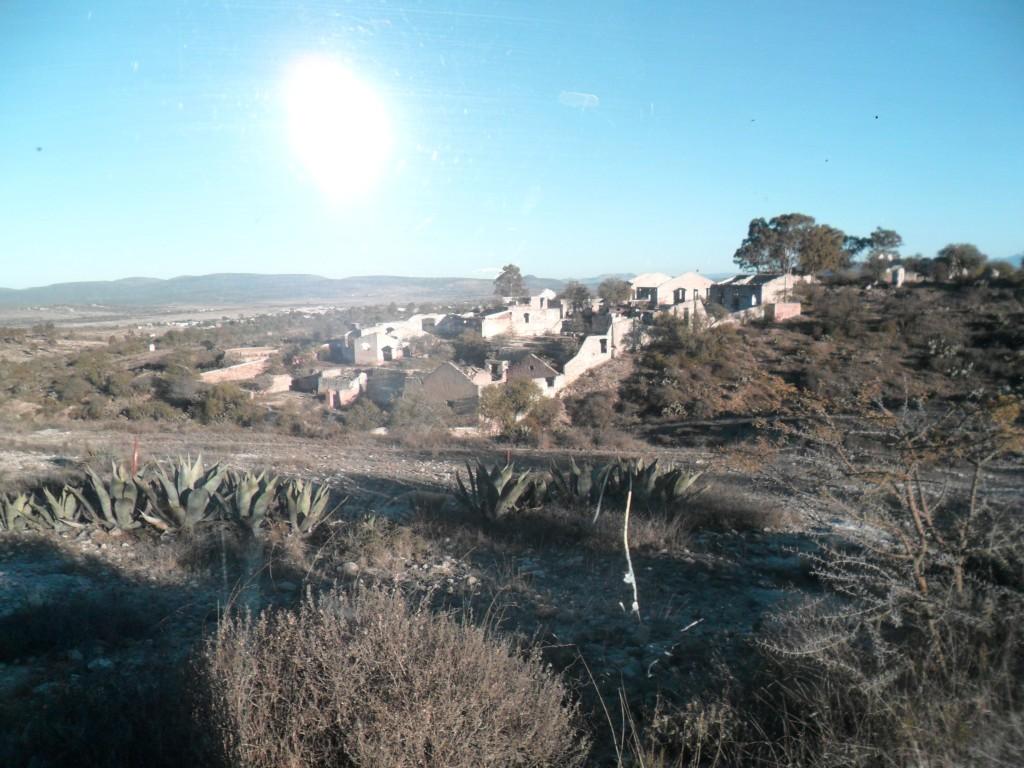 The ruins of San Luis de la Paz