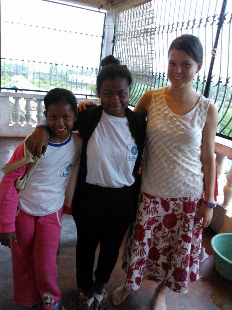 My sisters in Mahajanga :)
