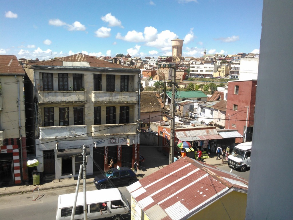 View from the SIT program center in Antananarivo