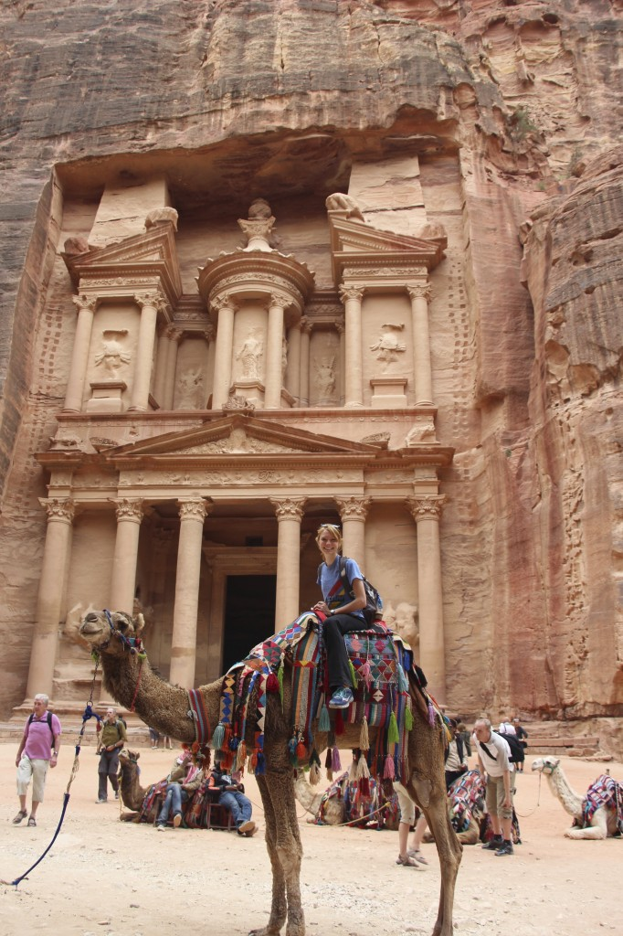 dream come true. outside of the treasury of Petra