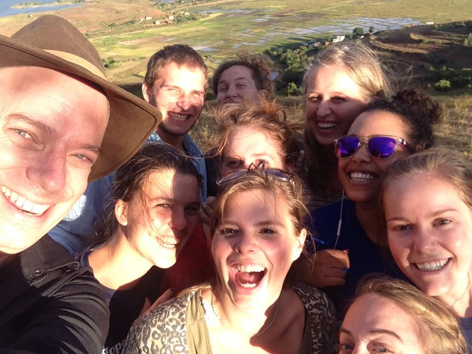 While at ampefy we convinced our program director Roland to take a selfie with us!