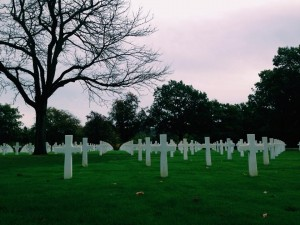 Saint-Avoid, the largest US Military Cementery in Europe