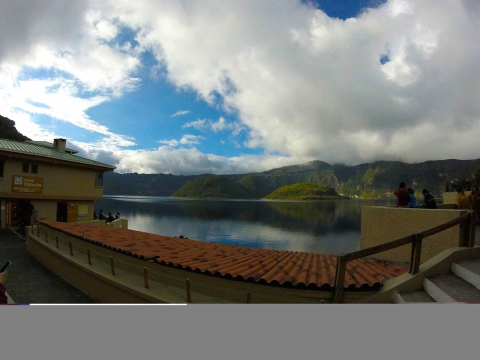 Lago Cuicocha got its name from all the wild 'cuy' (guinea pigs) that run around the area