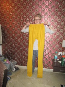 Pants that are almost taller than me!