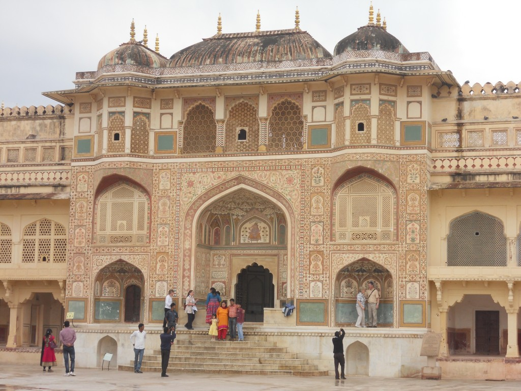 Just a small part of the Amber Fort.