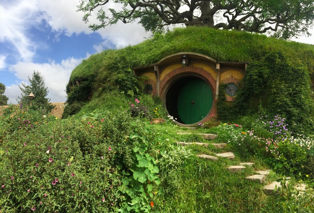 Bag End. The hobbit hole where Bilbo and Frodo Baggins lived.