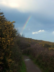 Just a gorgeous rainbow I saw on my hike from Greystones