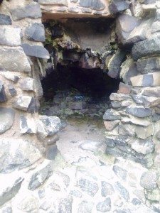 Dunluce castle- This used to be an oven!