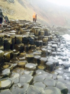 The geological phenomenon that is The Giant's Causeway