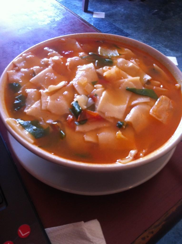 Yummy Tibetan food!
