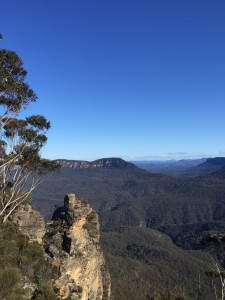 Three Sisters in the Blue Mountains Katoomba, Australia