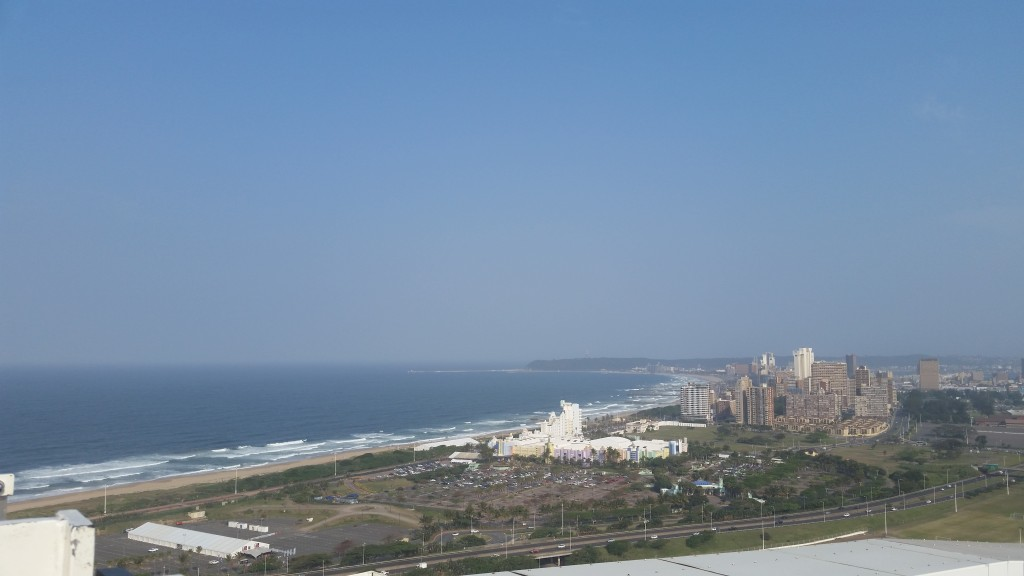 The beautiful Durban coast/skyline