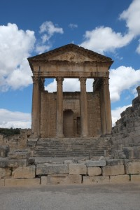 Ancient temple dedicated to Jupiter.