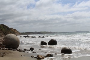 Moeraki Boulders...really awesome geologic formations for the geology nerds out there!
