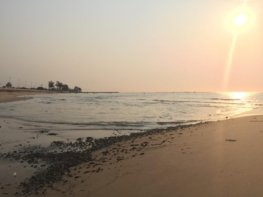 Maputo beachfront